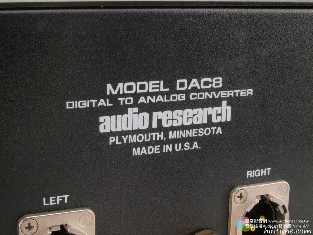 【音响】钛孚Audio Research DAC8,数位流闪亮一颗星 - 秋韵枫斓 - 秋韵枫斓